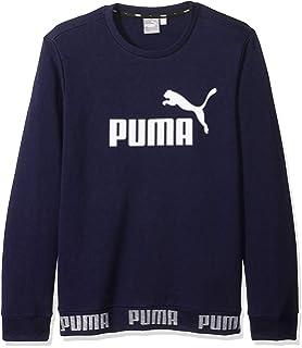 PUMA Mens Amplified Crewneck Sweatshirt