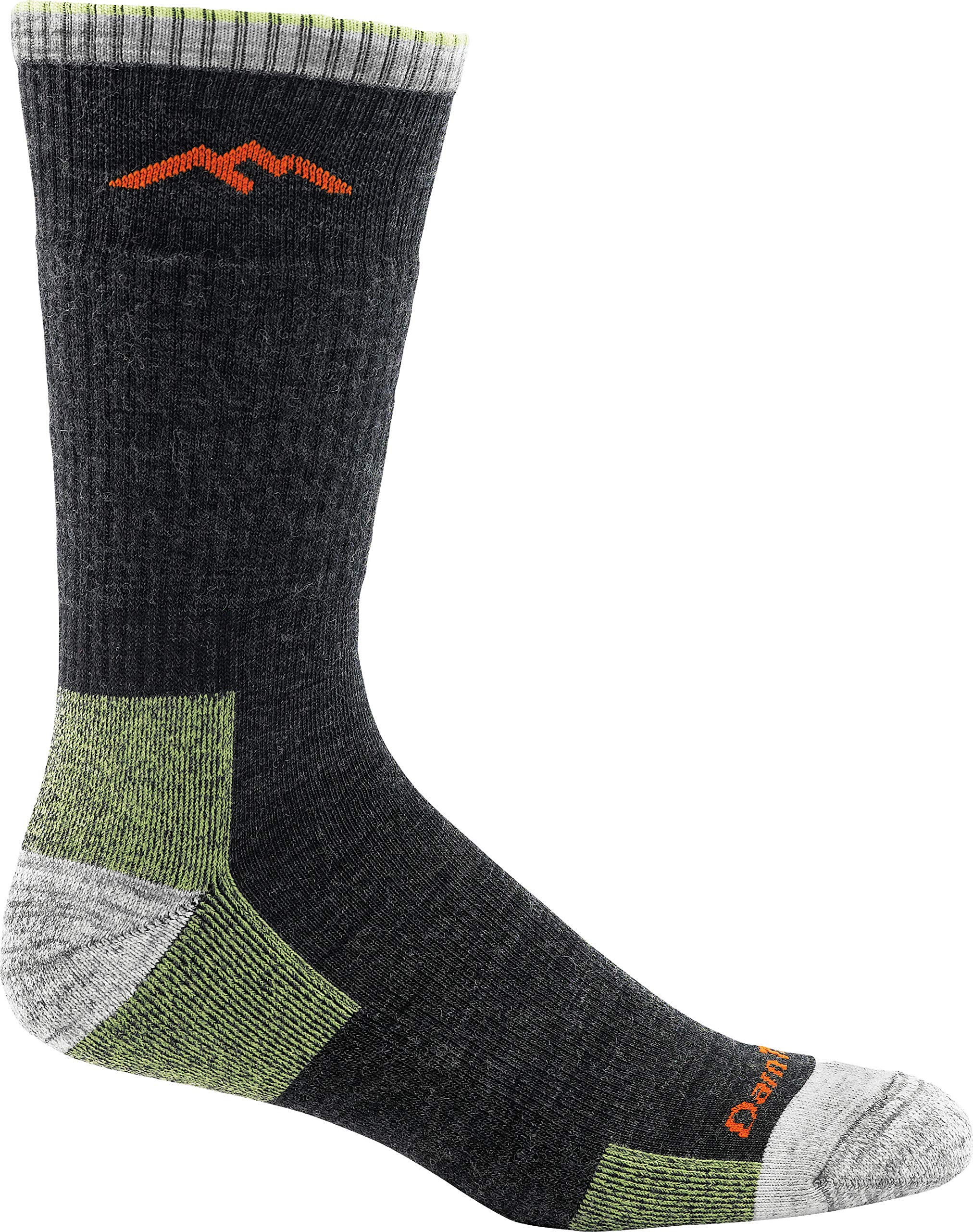 Darn Tough Merino Wool Hike/Trek Boot Socks - Men's Lime 2X-Large by Darn Tough