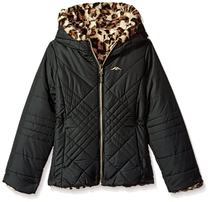 ce3b5cb57 Amazon.com  Pacific Trail Girls  Little Quilted Jacket Reversible to ...
