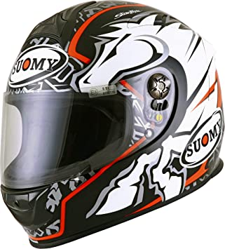 SUOMY SR Sport - Casco para Moto Integral, Multicolor (No Brand Negro),