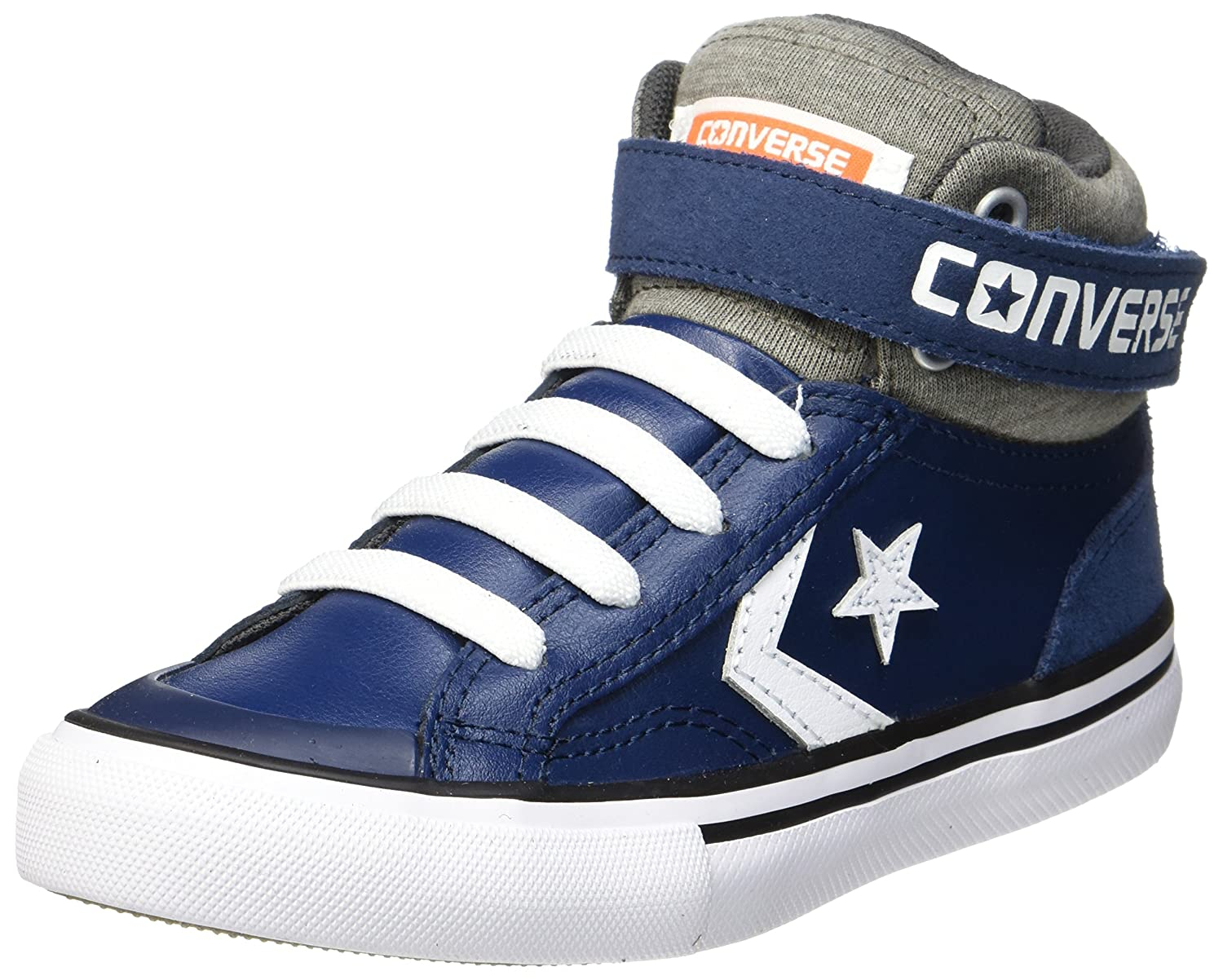Converse CTAS Hi PC Leather, Baskets Hautes Mixte Enfant, Blu (Midnight Navy/Inked/Black), 34 EU