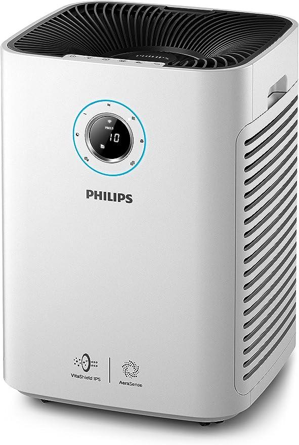 Philips - Purificador de aire (130 m², 1,8 m, CC, 500 m³/h, China ...