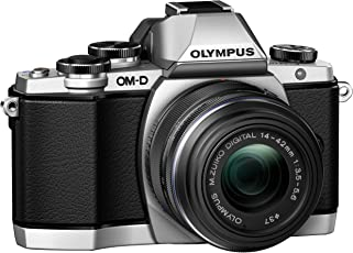Olympus OM-D E-M10 Mirrorless Digital Camera with 14-42mm 2RK lens (Silver)