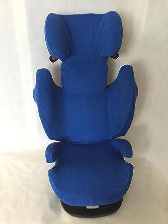 Sommerbezug Schonbezug Frottee für Cybex Solution X X2 X-Fix,X2-Fix dunkelgrau