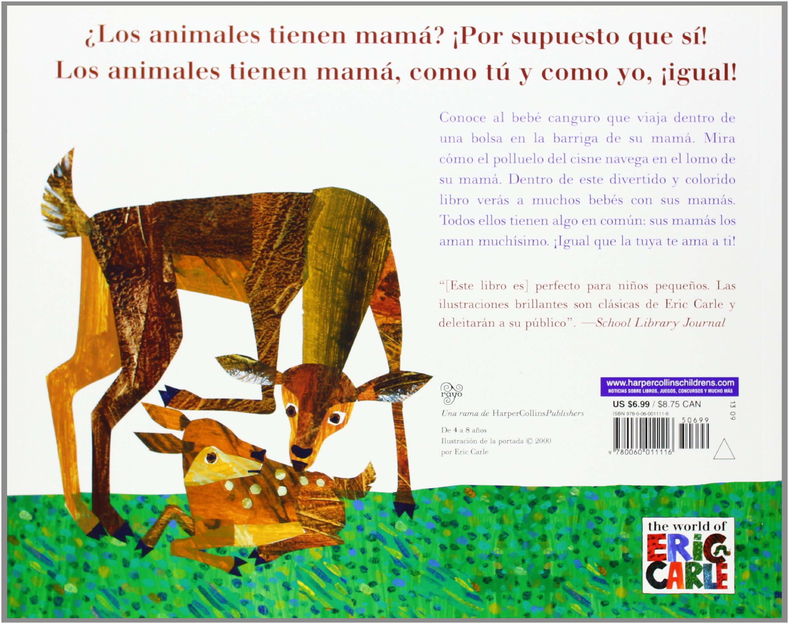 El canguro tiene mama? (Spanish edition) (Does a Kangaroo Have a Mother,  Too?): Eric Carle: 9780060011116: Amazon.com: Books