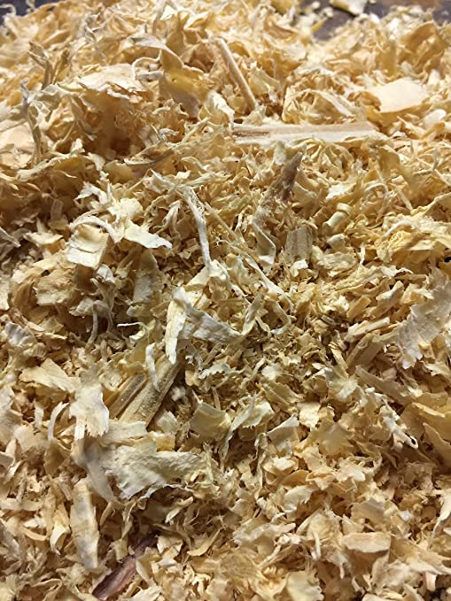 Bulk Pine SHAVINGS (25 lbs  Bagged), All Natural Wood Shavings, Made in USA  by Crossroad Sales, LLC