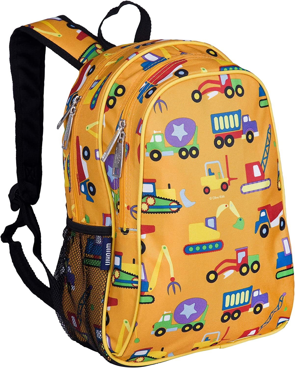 Wildkin Kids 15 Inch Backpack for Boys and Girls, Perfect Size for Preschool, Kindergarten and Elementary School