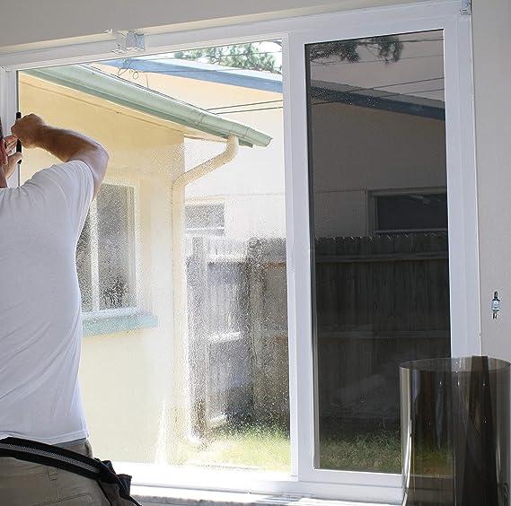 Venilia Sonnenschutzfolie getönt, Fensterfolie schützt VOR ...