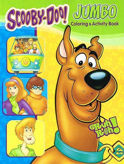 Amazon Com Scooby Doo Coloring Book Set 2 Libros De Pintar