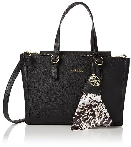 Guess Women's Tulip Shoulder Bag black black: Amazon.co.uk: Shoes ...