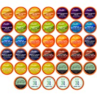 Two Rivers Coffee Decaf Coffee, Regular and Flavored Decaffeinated Pods Compatible with 2.0 Keurig K-Cup Brewers, 40…