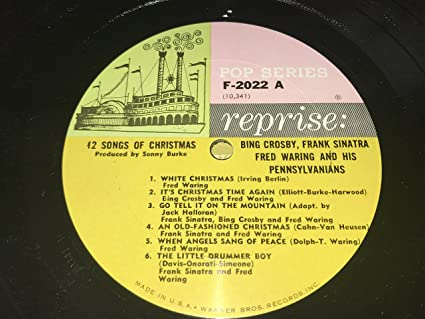 Bing Crosby, Frank Sinatra, Fred Waring and the Pennsylvanians ...