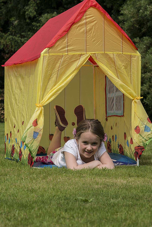 Traditional Garden Games Ladybird House Play Tent: Amazon.co.uk ...