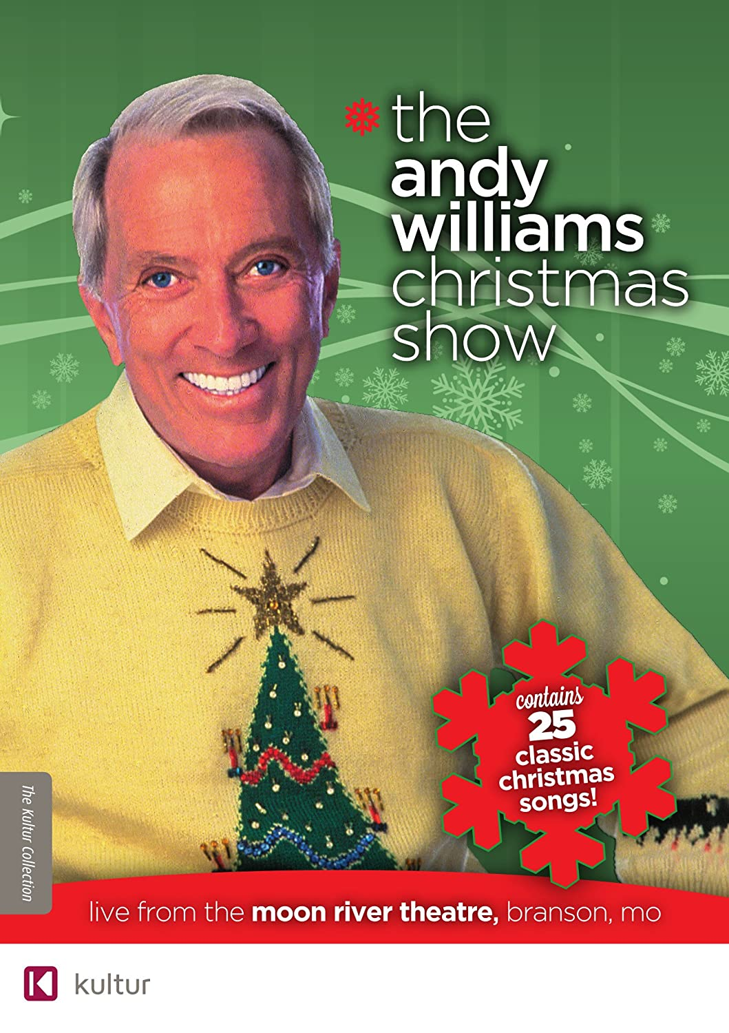 Amazon.com: The Andy Williams Christmas Show (Live from Branson ...