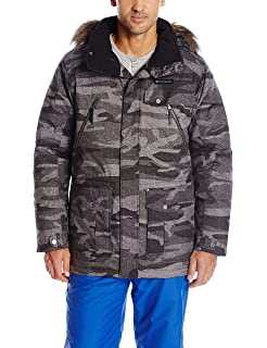 Columbia Barlow Pass 550 TurboDown Jacket Tweed