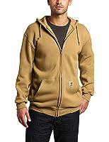 Carhartt Men's Heavyweight Sweatshirt Hooded Zip Front Original Fit