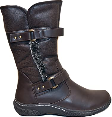 Wanderlust GABI US 7M Brown   Snow Boots