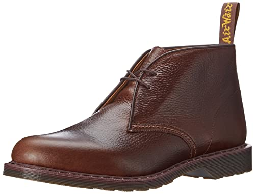 Dr. Martens SAWYER New Nova DK BROWN - Botas desert sin forro para hombre, color marrón (dk. brown), talla 39: Amazon.es: Zapatos y complementos