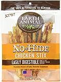 Earth Animal No-hide Chicken Stix 10 Count/3 Ounces