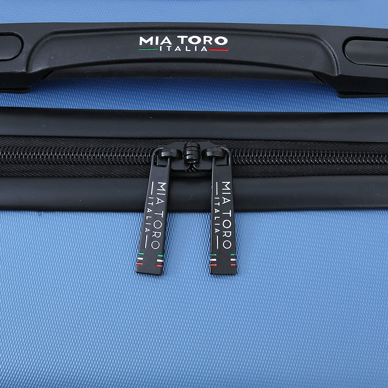 Blue Mia Toro Italy Molded Art Hive Hard Side 24 Inch Spinner