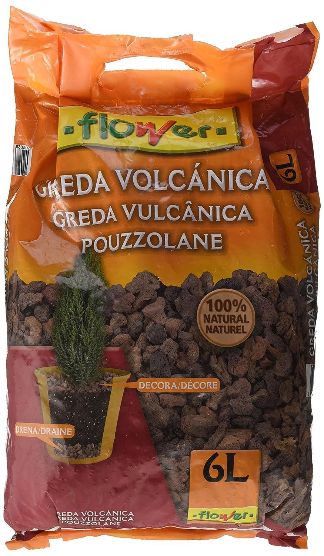 Flower Arlita - Greda volcánica, Color Marrón, 6 l Productos Flower SA M109287