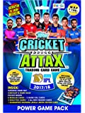 Topps Cricket Attax IPL CA 2017 Power Game Pack, Multi Color