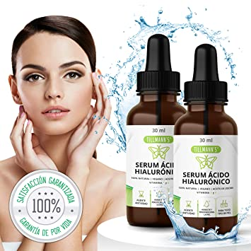 Tillmanns® Acido Hialuronico 2 frascos x 30 mililitros – Ácido Hialuronico – Serum Acido Hialuronico