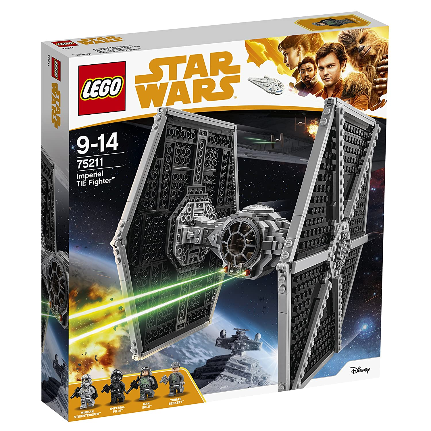 LEGO Star Wars Imperial TIE Fighter 75211 Star Wars Spielzeug LEGO®