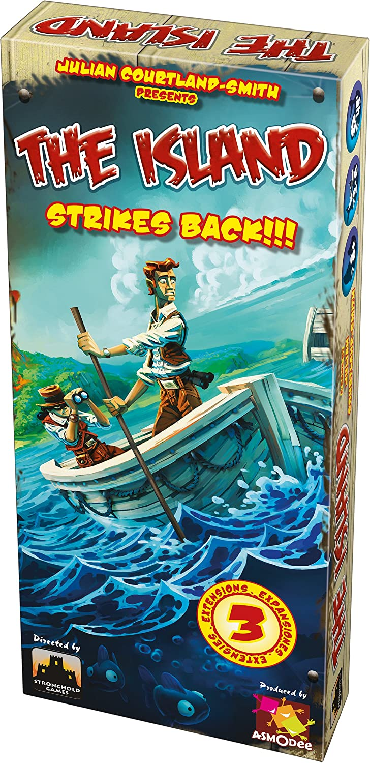 Asmodee- Juego de Tablero The Island Strikes Back (ISL02ML)