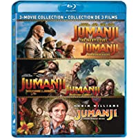 Jumanji (1995) / Jumanji: The Next Level / Jumanji: Welcome to the Jungle - Set [Blu-ray] (Bilingual)