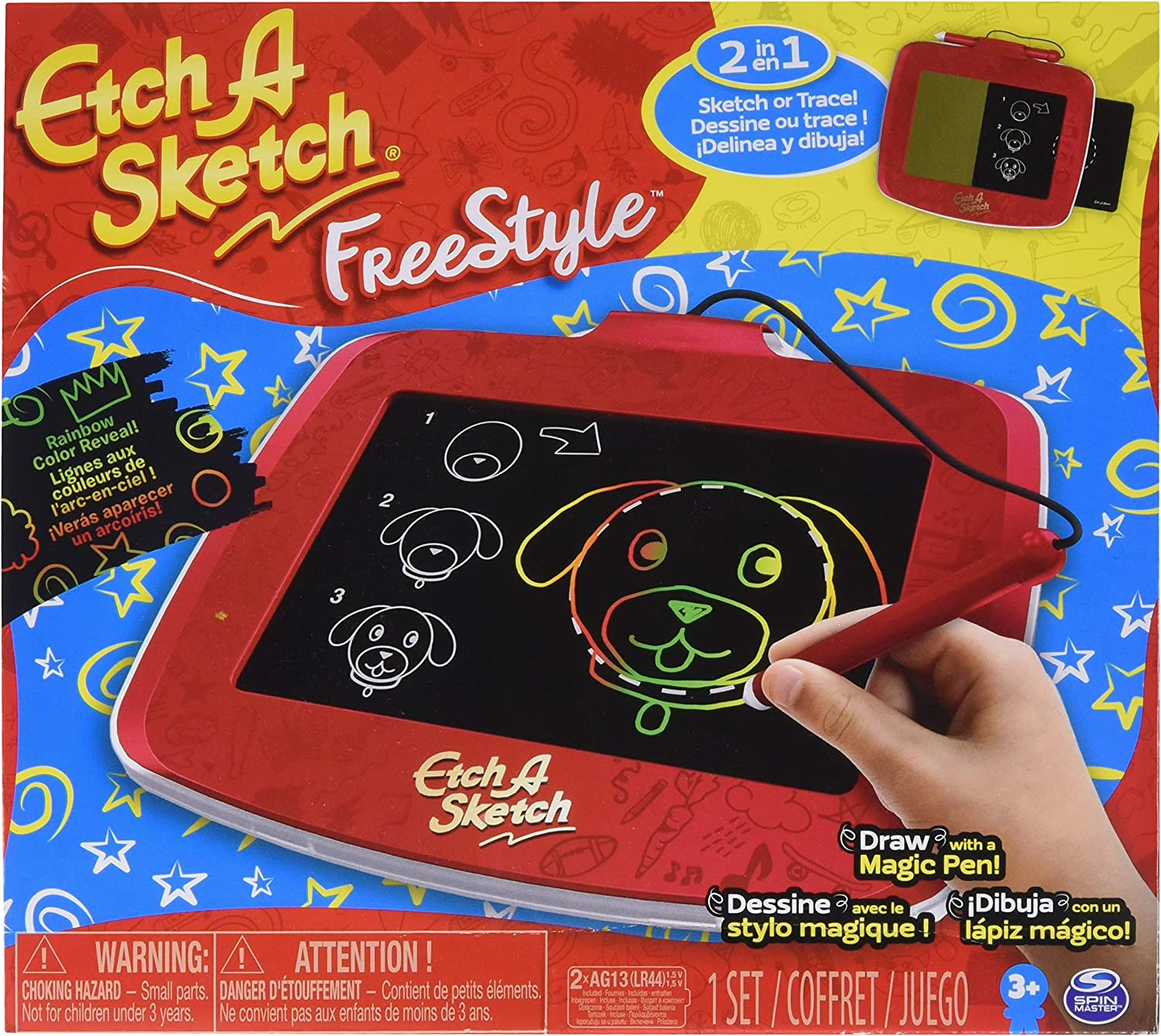 Etch A Sketch Freestyle, 2-in-1 Drawing and Tracing Pad with Magic Pen Stylus