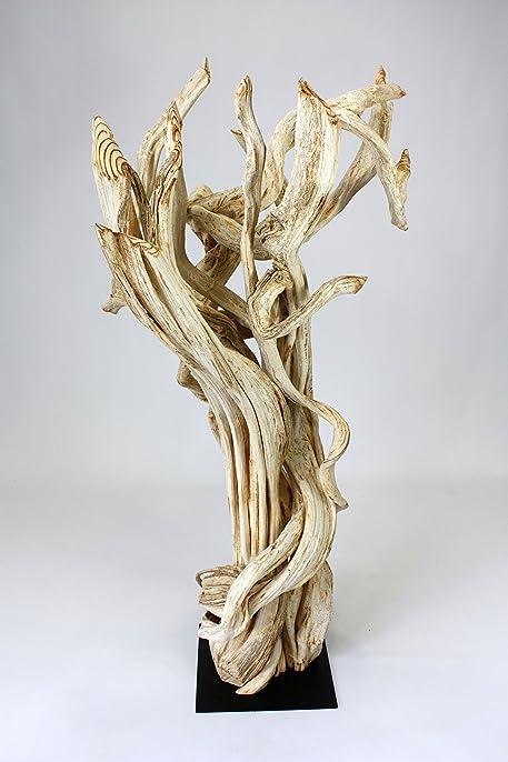 Farang sculpture en bois flotté-Très Grande Taille 130 cm ...