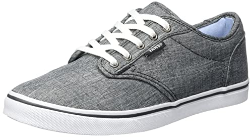 d3b7d406e23031 Vans Women s Atwood Low-top Sneakers Grey ((Rock Textile) Gray) 2.5 UK  Buy  Online at Low Prices in India - Amazon.in