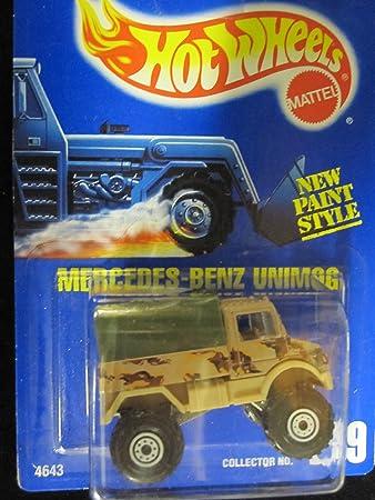 Amazon.com: Mercedes-Benz unimog 1993 Hot Wheels # 239 ...