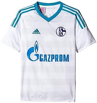 Adidas 2ª Equipación Schalke 04 - Camiseta Oficial: Amazon.es: Zapatos y complementos