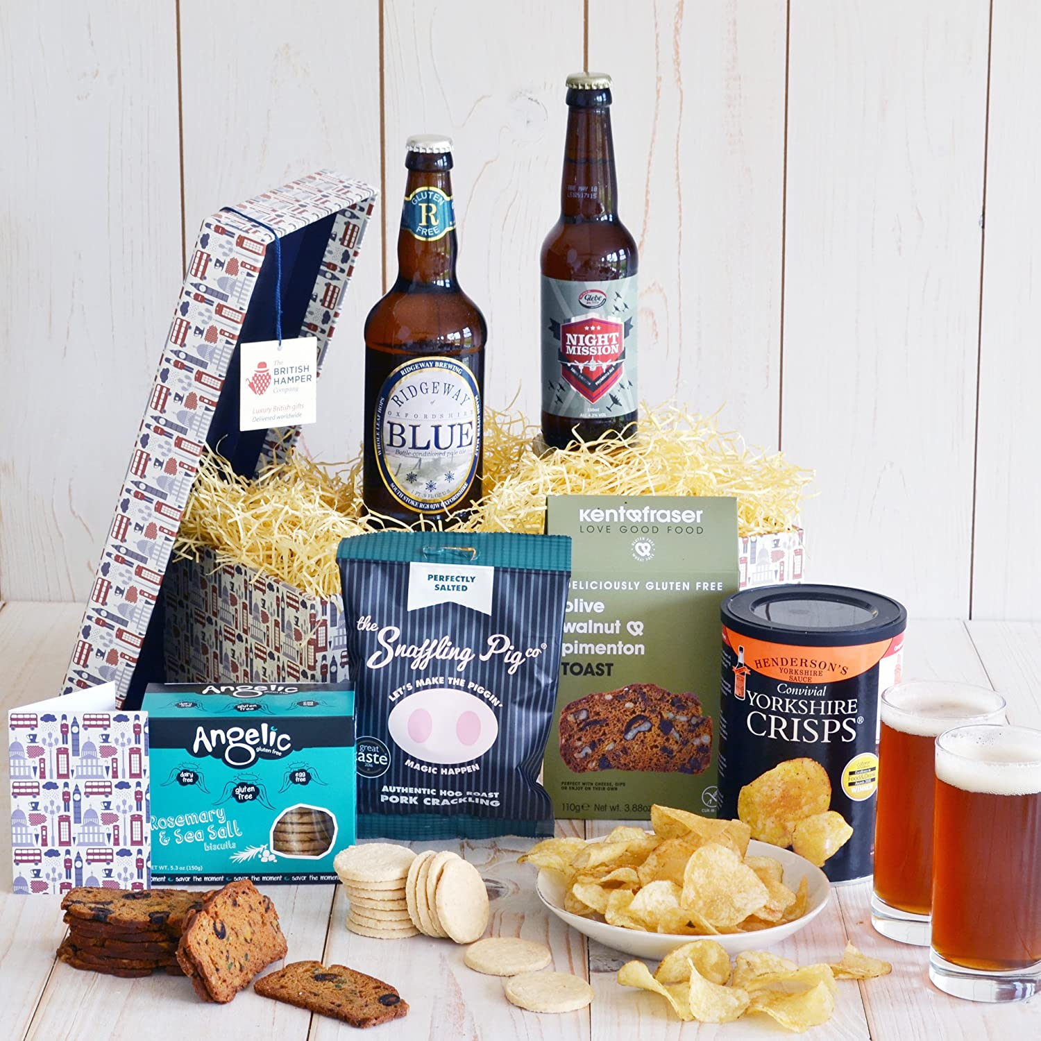 Gluten free beer and snacks hamper free uk express delivery gluten free beer and snacks hamper free uk express delivery gift card included amazon grocery negle Images