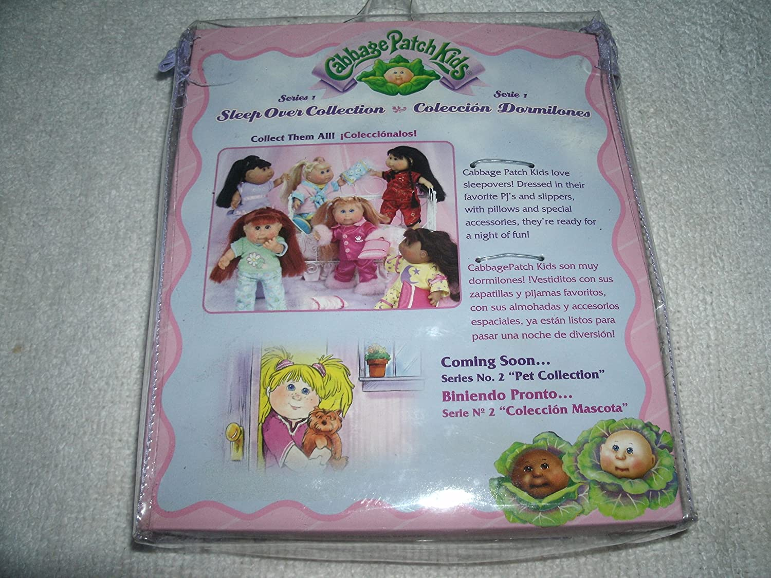 Amazon.com: Vintage 2004 Cabbage Patch Kids Sleep Over Collection Series 1 Doll in Pink Princess Pajamas With Accessories and Birth Certificate: Toys & ...