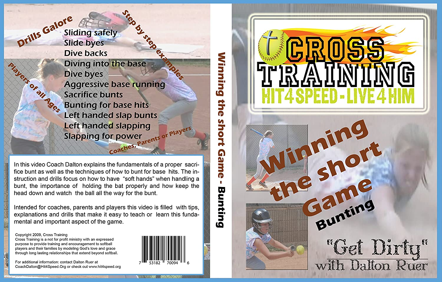 Amazon.com : Get Dirty Fastpitch: Winning the Short-game - Bunting : Sports & Outdoors