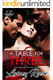 A Table For Three (New York Series Book 1)