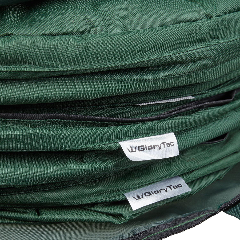 Glorytec Pop Up Gartensack 3 X 170 Liter Selbstaufstellende Gartenabfallsäcke Aus Extrem Robustem Polyester Oxford 600d Langlebiges Laubsack Set Mit Noch Stabilieren Nähten Garten