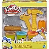 Conjunto Ferramentas Divertidas, Play-doh, Laranja/marrom/azul