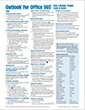 Microsoft Outlook 365 Mail, Calendar, People, Tasks, Notes Quick Reference - Windows Version (Cheat Sheet of…