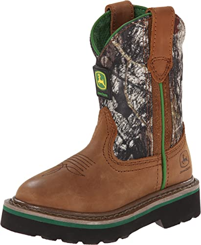 WONDER NATION MOSSY OAK Boys Camouflage Pull-On Cowboy Boots