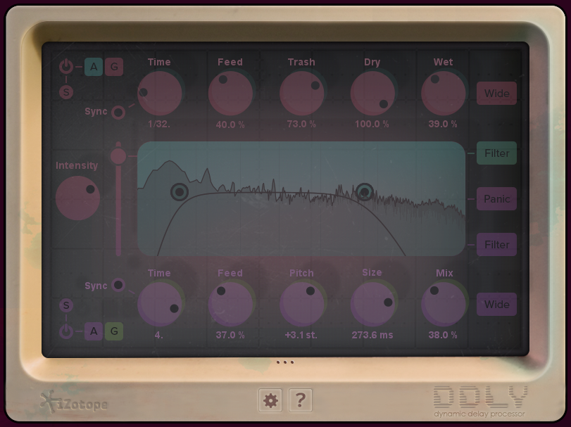 DDLY Dynamic Delay: Audio Effects