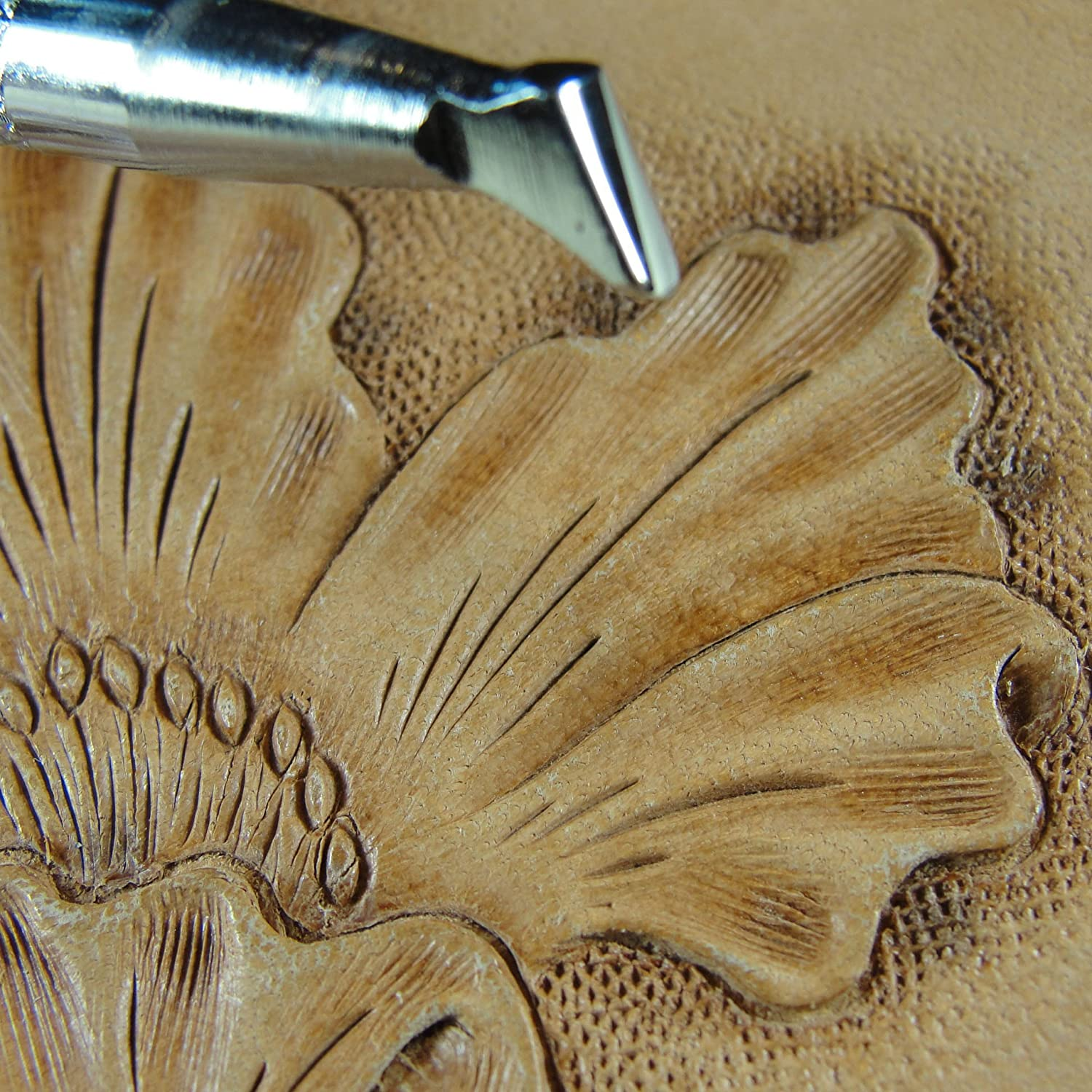 #B892 Small Undercut Beveler Stamp Leather Stamping Tool Japan Select