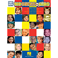 100 Songs for Kids Songbook: Easy Guitar with Notes & Tab book cover
