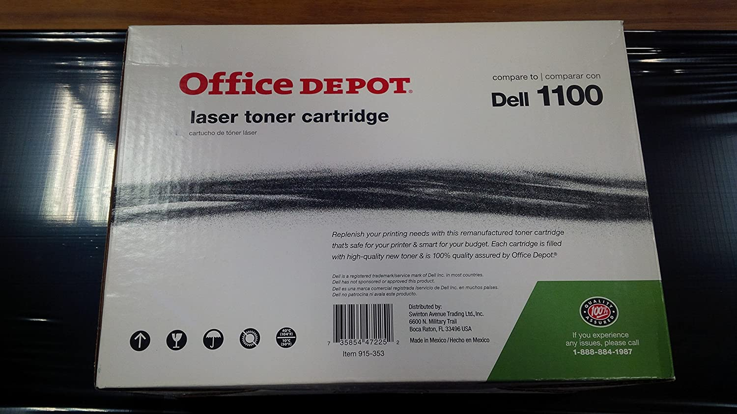 COMPATIBLE DELL 310-6640 TONER CARTRIDGE FOR USE IN DELL 1100 LASER PRINTER