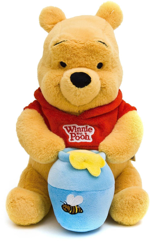 Joy Toy 1000430 Winnie the Pooh - Oso de peluche con bote de miel, 25 cm [importado de Alemania]: Amazon.es: Juguetes y juegos