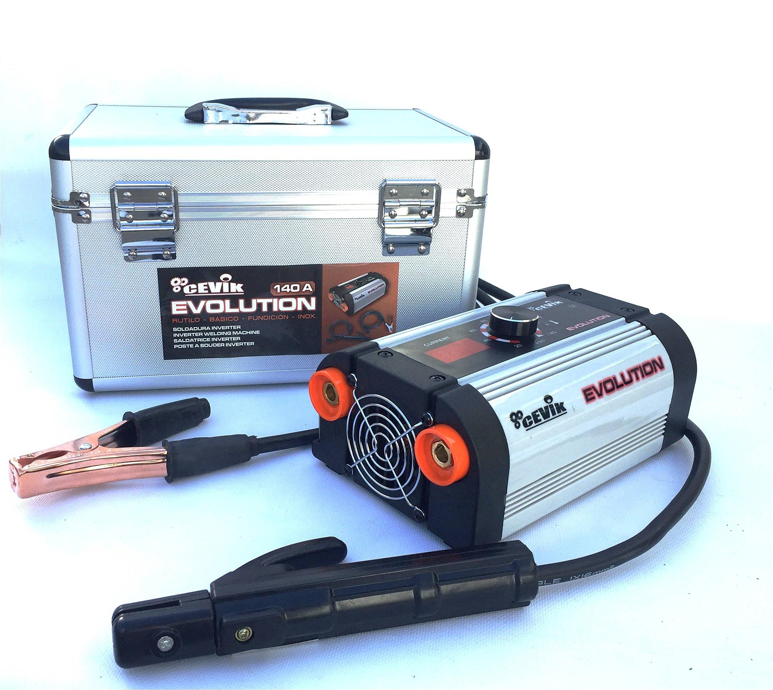 Cevik CE-Evolution18X - Equipo de soldadura inverter, 140 A, 230 V product