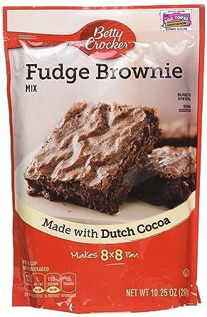 Betty Crocker Fudge Brownie Mix - Bolsas de plástico (3 ...